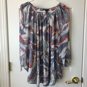 Chaps 2X 3/4 Sleeve Blouse